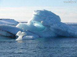 Толщина льда в Арктике увеличилась в 1,5 раза