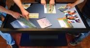 Интерактивный  кофейный столик с дисплеем 55 дюймов