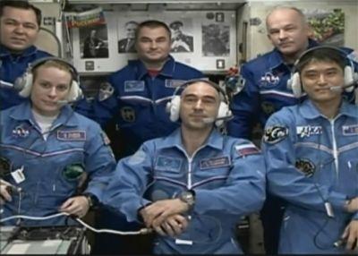 Экипаж «Союза МС-01» успешно прибыл на МКС
