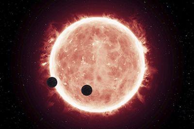 Названо главное условие существования жизни в системе TRAPPIST-1