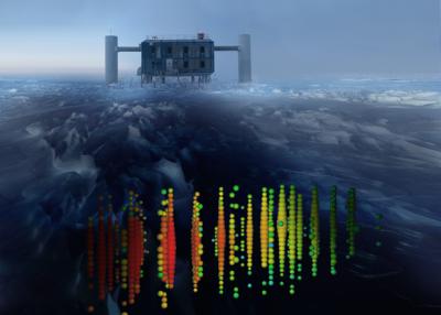 IceCube впервые «поймал» сразу три нейтрино