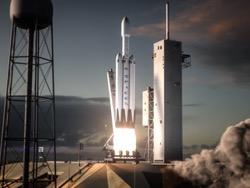 Проведены успешные испытания первых ступеней тяжелой ракеты Falcon Heavy компании SpaceX