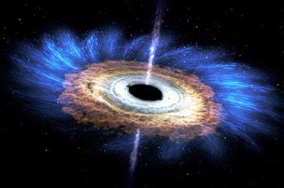 Доказано нарушение законов физики вчерных дырах