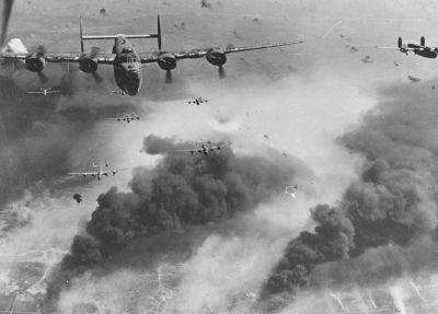 Бомбардировки Второй мировой дотянулись до космоса инфразвуком