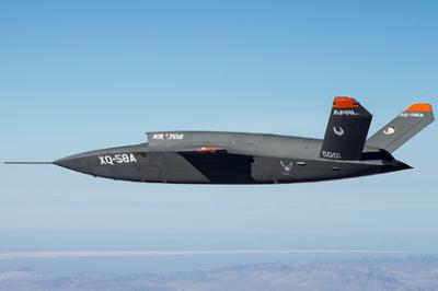 Ведомого напарника F-35 сдуло ветром